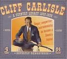 A Country Legacy 1930-1939 4CD Boxset-0