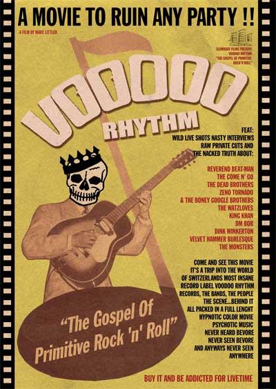 Voodoo Rhythm ``The Gospel Of Primitive Rock`n`Roll``DVD-0