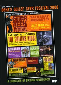 5th Annual Deke`s Guitar Geek Festival 2008 DVD-0