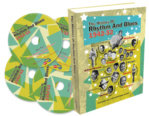 The History Of Rhythm And Blues 1942-1952 4CDBoxset-0