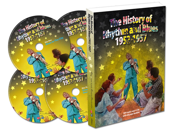 The History Of Rhythm And Blues 1952-1957-0