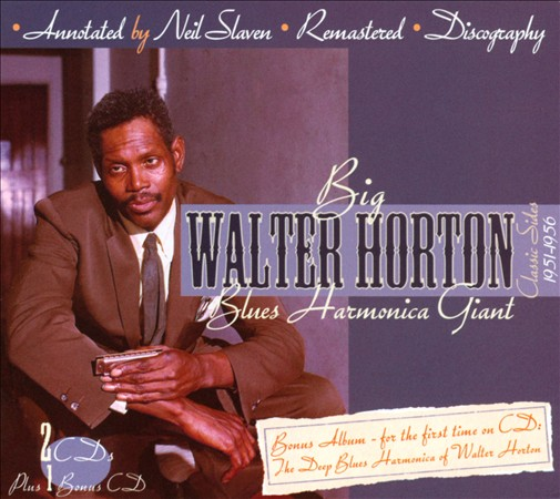 Blues Harmonica Giant 3CD Boxset - Classic Sides 1951-1956-0