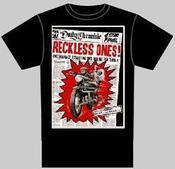 Newsprint T-shirt (Koko L)-0