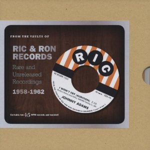 From The Vaults of Ric & Ron Records 10 x 7``Single boxset-0