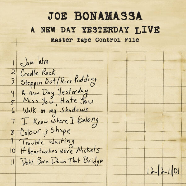 A New Day Yesterday Live 2LP-0