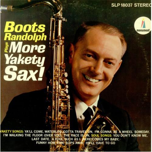 Plays More Yakety Sax-0