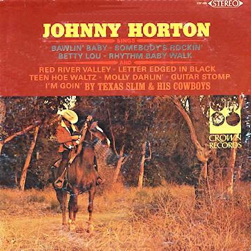 & Texas Slim And His Cowboys - Sings-0