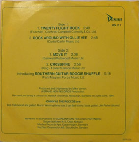 Twenty Flight Rock EP-0