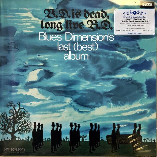 B.D. Is Dead, Long Live B.D. (Ltd, Blue, Numbered)-0