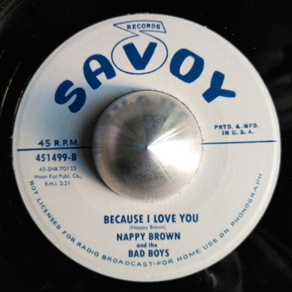 Because I Love You / It's All Yours-0