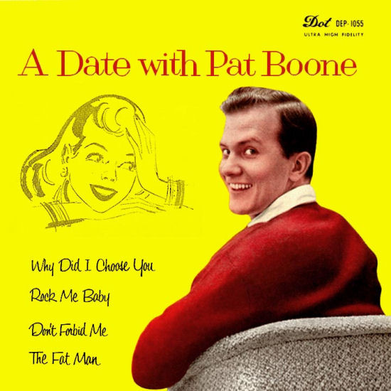 A Date With Pat Boone EP-0