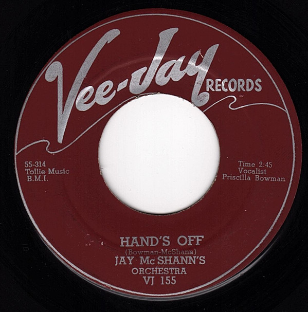 Hand's Off / Another Night -0