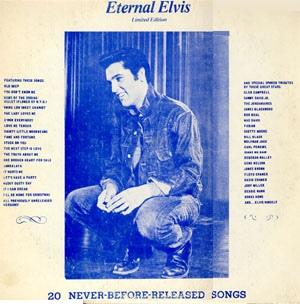 Eternal Elvis (Limited 250 copies) RED VINYL-0