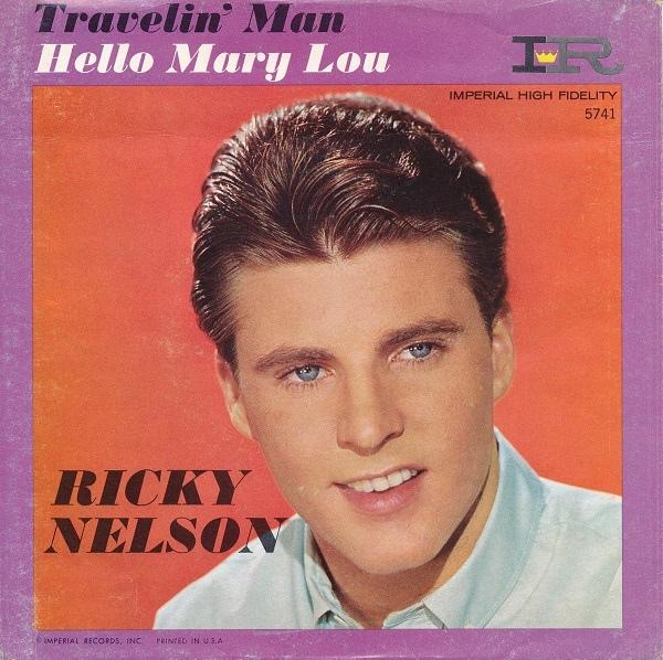 Travelin` Man / Hello Mary Lou-0