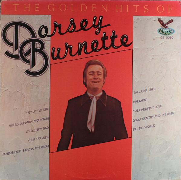 The Golden Hits Of Dorsey Burnette -0