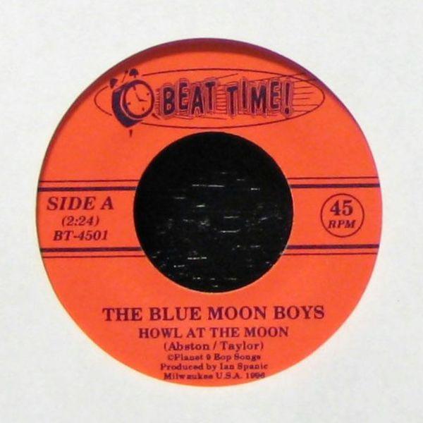 Howl At The Moon / Foolish Love (Blue Vinyl)-0