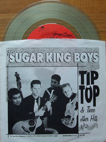 Tip Top & Three Other Hits EP (colour vinyl)-0