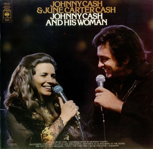 Johnny Cash And His Woman-0