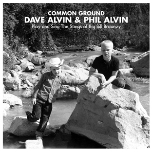 Common Ground: Dave Alvin & Phil Alvin Play and Sing the Songs of Big Bill Broonzy (LP+CD)-0