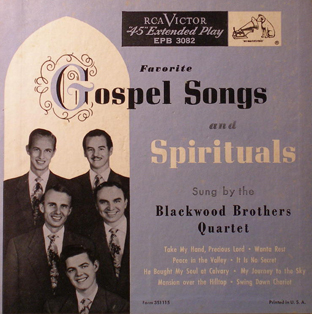 Favorite Gospel Songs And Spirituals DOUBLE EP-0