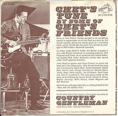Chet`s Tune / Country Gentleman-0