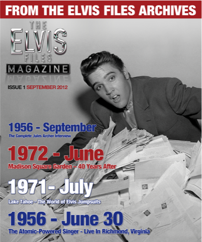 Elvis Files Magazine Issue 1 -0
