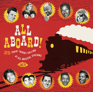 All Aboard! Train Tracks Calling At All Musical Stations -0