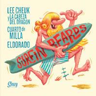 """Lee Cheuk y La Cabeza Del Dragon 7""""EP + CD-0"""