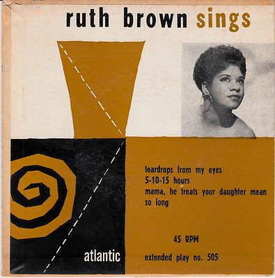 Ruth Brown Sings EP-0