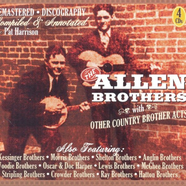 With Other Country Brother Acts 4CD Boxset-0