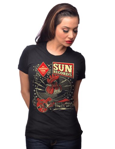Sun Records Hop Women's Tee-0