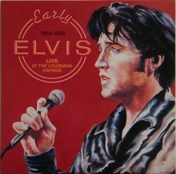 Early Elvis 1954-1956 Live At The Louisiana Hayride-0