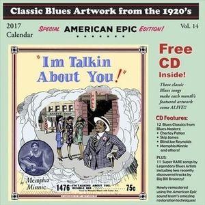 Classic Blues Artwork From the 1920s (2017 Calendar) + Bonus CD-0