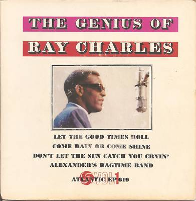 The Genius Of Ray Charles EP-0