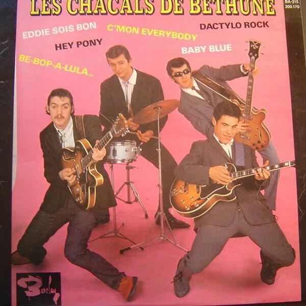 """Les Chacals De Béthune 10""""LP-0"""