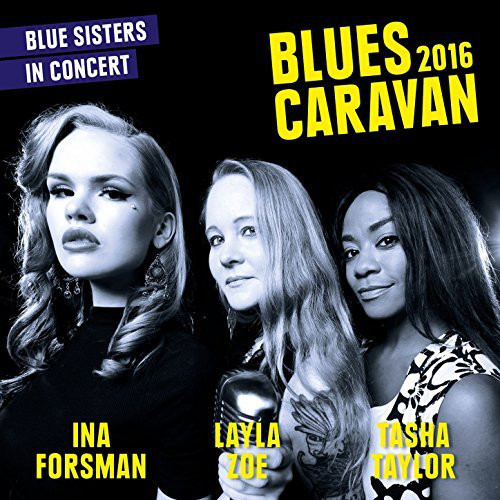 Blues Caravan 2016 CD+DVD-0