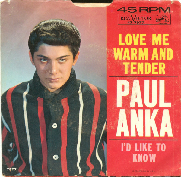 Love Me Warm And Tender / I'd Like To Know-0