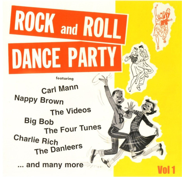 Rock And Roll Dance Party Vol 1-0