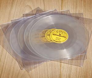 Set Of 5 Elvis SUN 78 rpm singles (Clear vinyl)-0