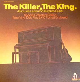 The Killer, The King (Gatefold, Blue vinyl)-0