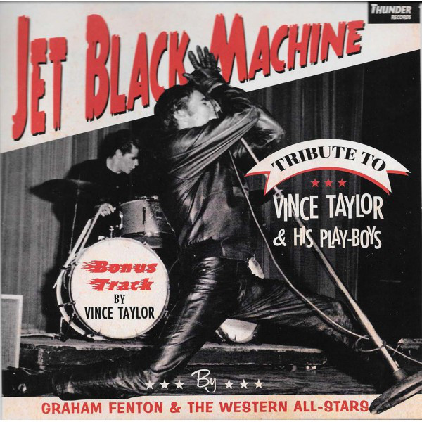 Jet Black Machine - A tribute to Vince Taylor EP-0
