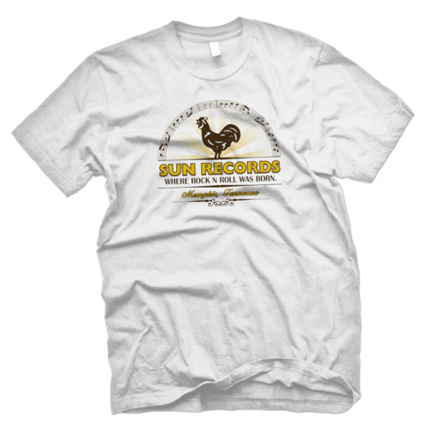 Sun Records Where Rock`n`Roll Was Born Official Tee-0