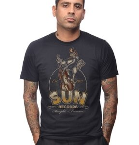 Sun Records Roosterbilly Men's Tee-0