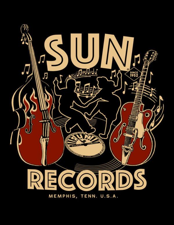 Sun Records Dance Men's Tee-63698