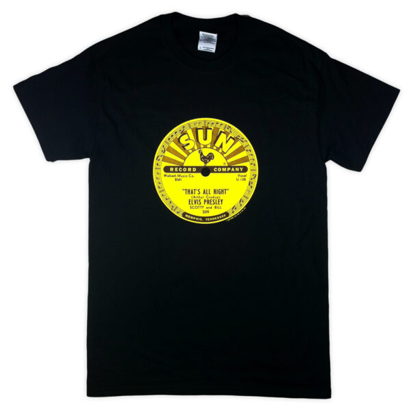 Sun Records That`s All Right Mama Official Tee-0
