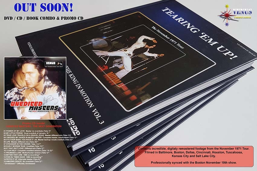 Tearing 'Em Up! - The King In Motion Volume 3 BOOK + CD+ DVD (Boxset)-0