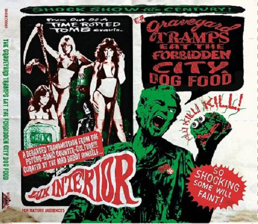 "Graveyard Tramps Eat The Forbidden City Dog Food DOUBLE (2 x 10""LP)-0"