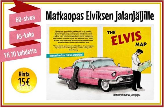 The ELVIS MAP - Matkaopas Elviksen jalanjäljillä-0