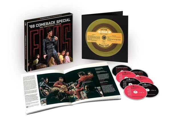 Elvis: '68 Comeback Special: 50Th Anniversary Edition 5CD + 2BLURAY -66439