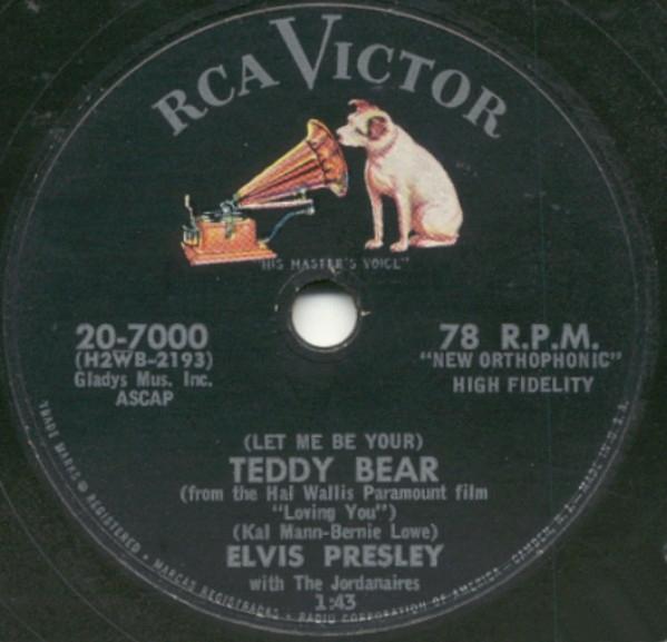 Loving You / Teddy Bear-0